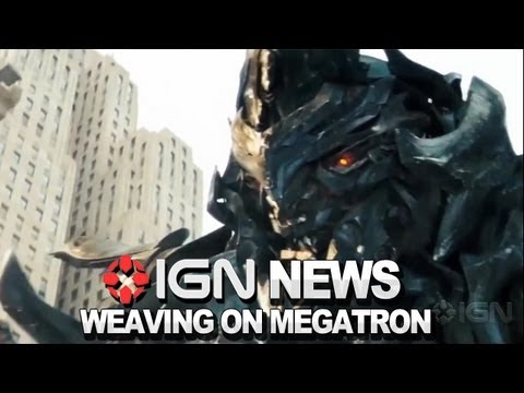 IGN News - Hugo Weaving Voices Megatron Experience