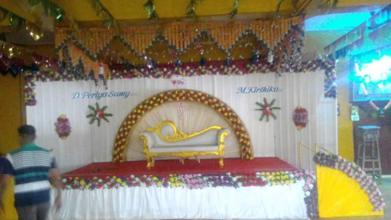 Madurai Decorators Wedding Stage Decoration