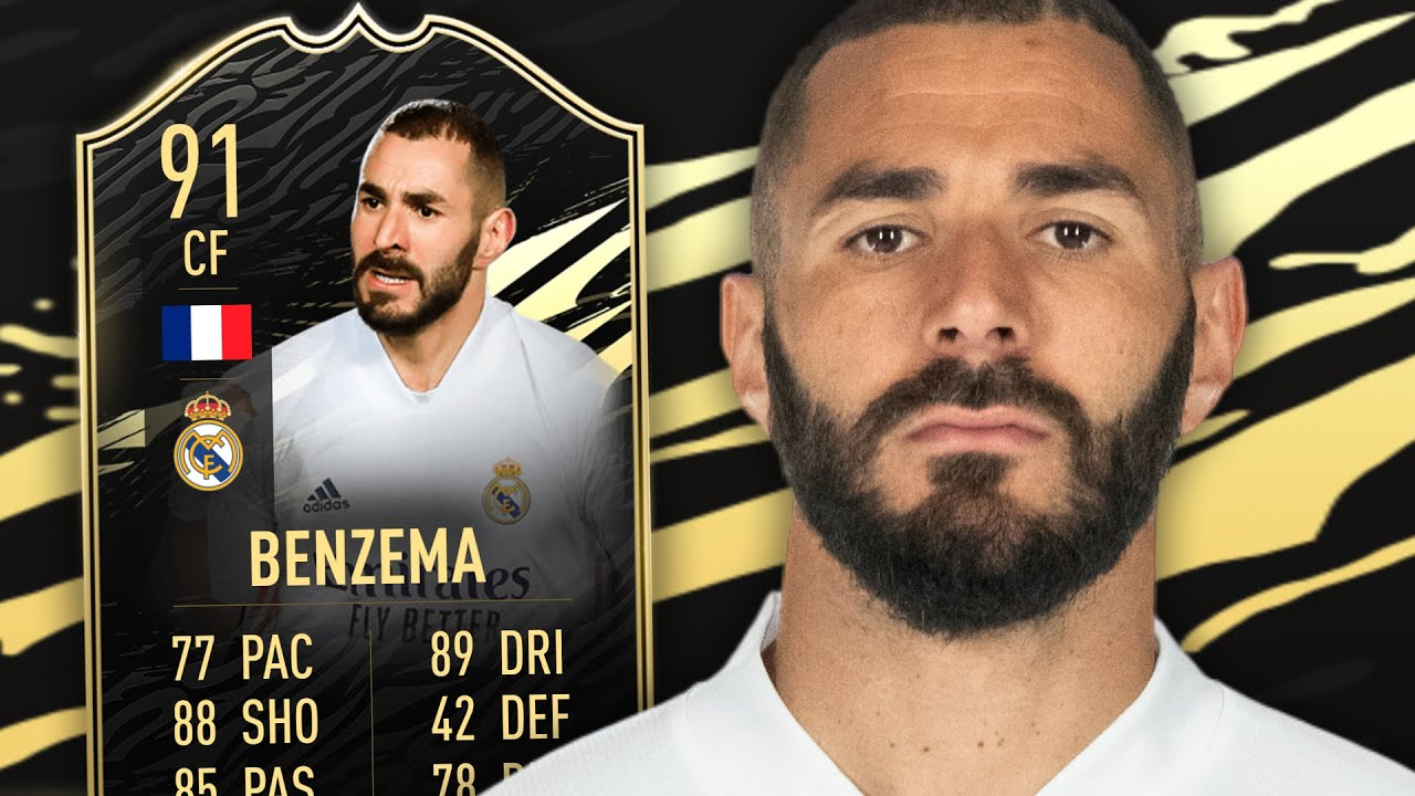 FIFA 21 SIF BENZEMA 91 PLAYER REVIEW - YouTube