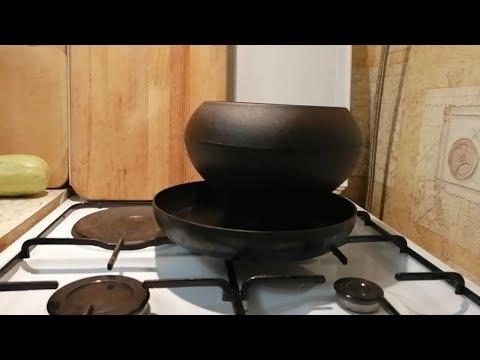 Чугунная посуда!