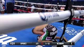 Errol Spence Jr vs Carlos Ocampo | Spence 1st round KO highlights review