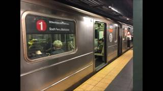 NYC Subway Recording of R62 1460 on a South Ferry Bound 1 Train