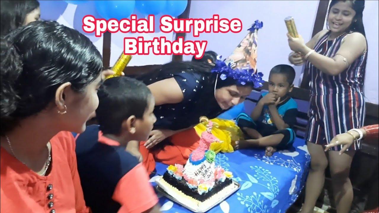 Bonu ke birthday surprise dilam onek moja holo