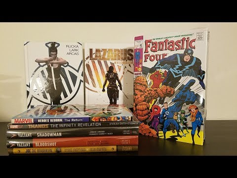 Graphic Novel, Hardcover, Omnibus comics Haul from MegaCon 2017