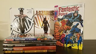 Graphic Novel, Hardcover, Omnibus comics Haul from MegaCon 2017