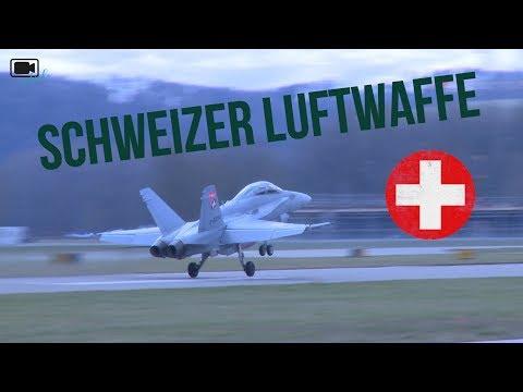 Besuch bei der Schweizer Luftwaffe in Payerne 💂🏻🇨🇭 | Uniflash Outside #10