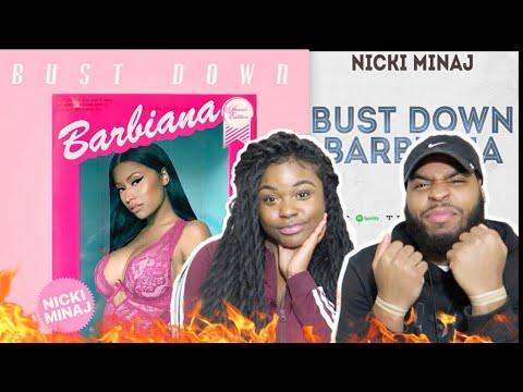 Nicki Minaj - Bust Down Barbiana (Blueface  Thotiana  Remix) | REACTION!!!