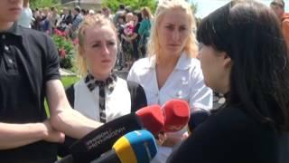 Похорон дівчаток, що загинули в ДТП. Васильків. 06.06.2016