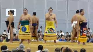 2013年10月12日(土)、熊谷巡業に行ってきました! 角界随一の歌ウマ力士...