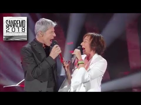 sanremo 2018 gianna nannini e claudio baglioni duettano. Black Bedroom Furniture Sets. Home Design Ideas