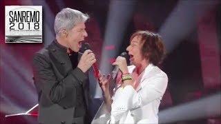 Sanremo 2018 - Gianna Nannini e Claudio Baglioni duettano sulle note di