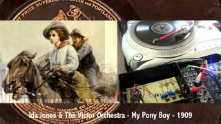 Ada Jones - My Pony Boy - 1909