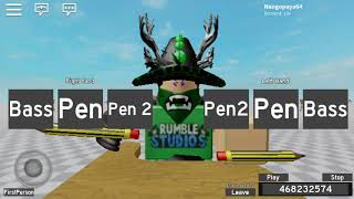 Roblox 'Pen Tapping' sick beats