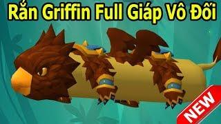Siêu Rắn Thần Thoại Griffin FULL Giáp Vô Đối Slither.Io - Rắn Săn Mồi, Snake Rivals - Top Game