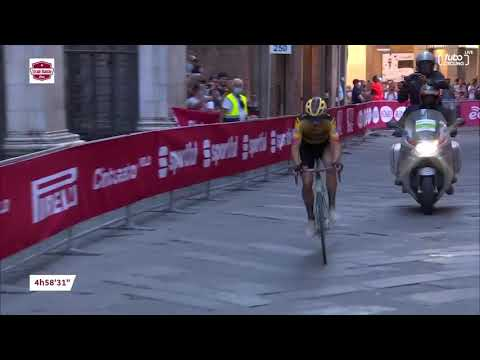 Wout van Aert Soloes To Strade Bianche Victory