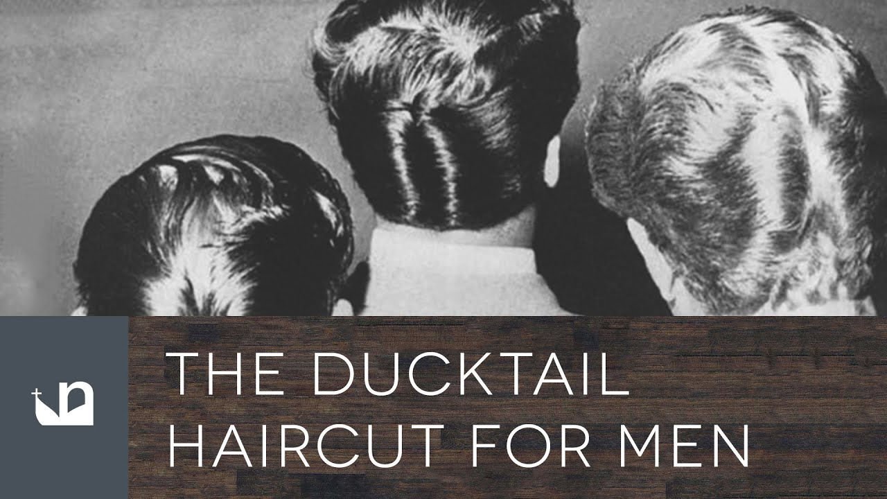 Ducktail Haircut For Men Ducks Arse Hair YouTube