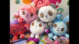 Малышарики - мягкие игрушки. Обзор новой коллекции: Крошик, Ёжик, Нюшенька, Барашик, Пандочка.
