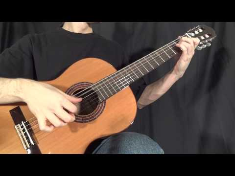 Greensleeves (What Child is This) - Classical Guitar