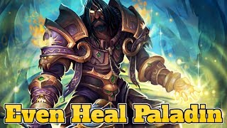 [Legend] Even Heal Paladin The Boomsday Project | Hearthstone Guide How To Play
