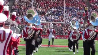 Wisconsin Marching Band Pre Game 9 19 15