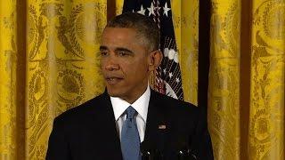 Obama congratulates Republicans on midterm poll win