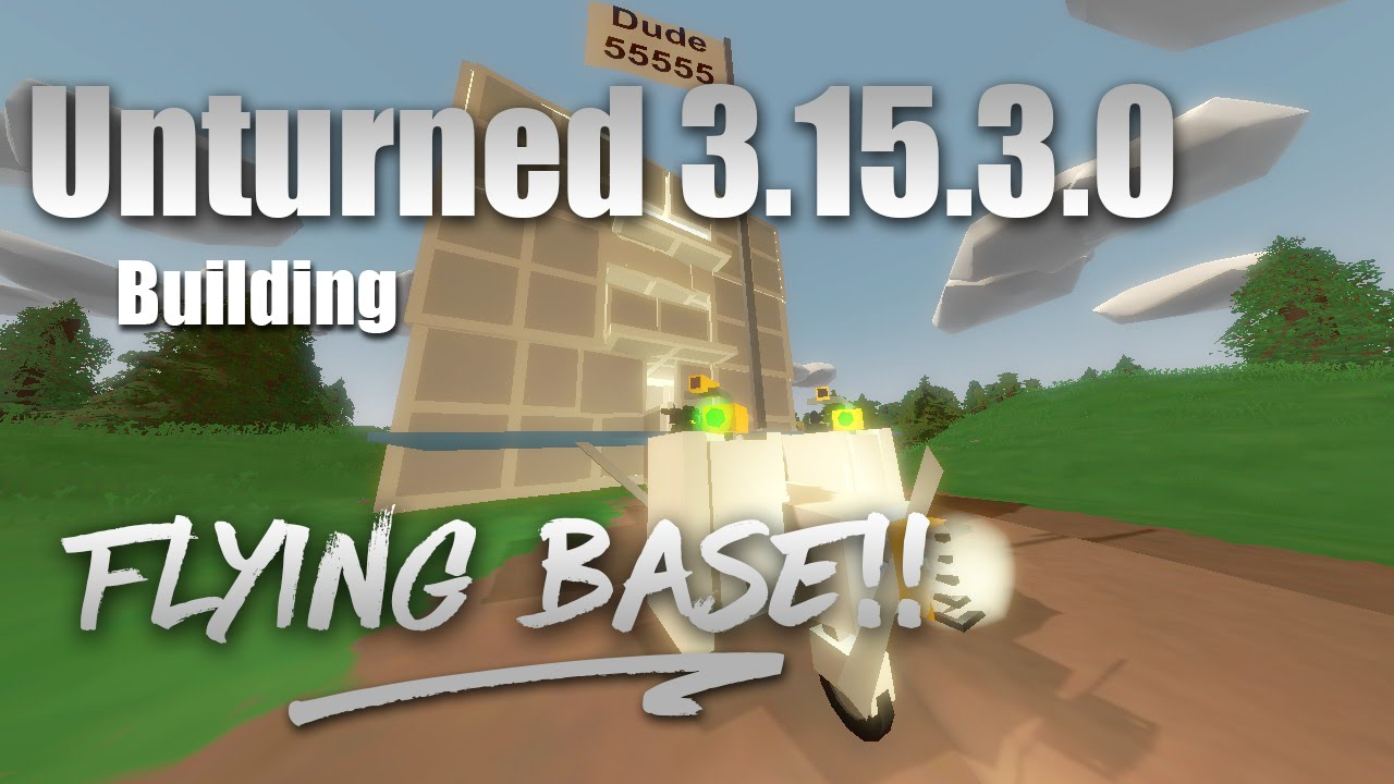 Unturned How To Make A Base -