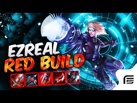 O META QUE NÃO SE VÊ - EZREAL RED BUILD - 0 DE COOLDOWN REDUCTION ? - League of Legends - [ PT-BR ]