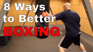 Top 8 Ways to Improve Your Boxing | Spanish Subtitles |