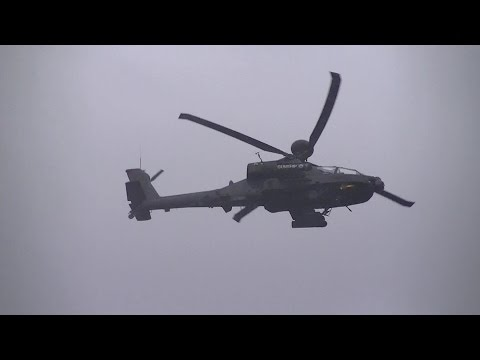RAF Cosford Airshow 2016: Westland Scout and Apache