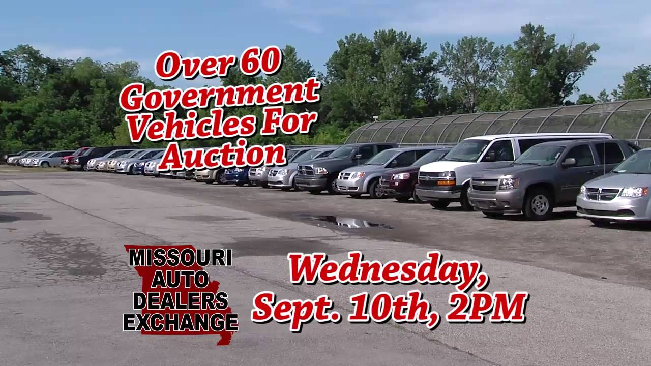 Missouri Auto Dealers Exchange Sept 10th Auction Youtube