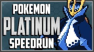 Pokemon Platinum SPEEDRUN in 8:27:22