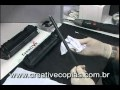 Video Aula Recarga Toner HP P2014, P2015, M2727, Q7553A, Q7553X, 53A, 53X