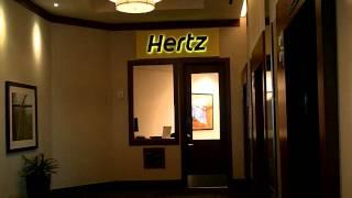25.  2nd Floor Hertz Car Rental with car fleet onsite