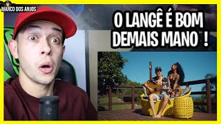 HIT DO POESIA ACÚSTICA ! Langê- Morena (Clipe Oficial) REACT/REAGINDO