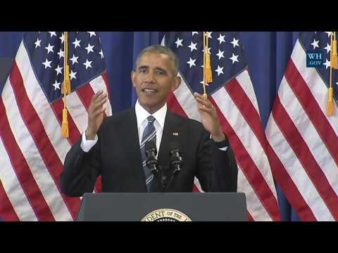 President Obama Delivers Remarks on Education