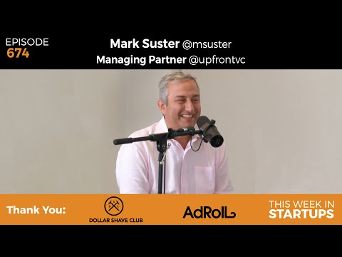 E674: Mark Suster, Upfront Ventures: How to pitch to VCs, best founders, anti demo day, pro IPO thumbnail