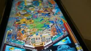 "46"" Custom Virtual Pinball Machine - Visual Pinball - HyperPin Triple Screen"