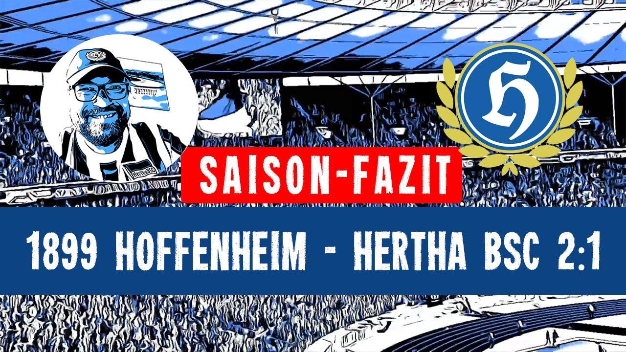 TSG 1899 Hoffenheim - Hertha BSC 2:1   22.05.2021   Saison-Fazit