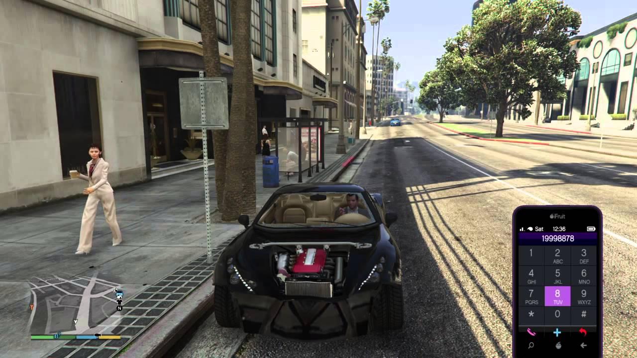 كلمة سر تصليح السيارة و اعادة الدم في لعبة Grand Theft Auto V Ps4 Youtube