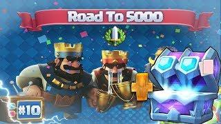 Új Season, Új Esély! | Road to 5000 10.Rész | Clash Royale Magyarul