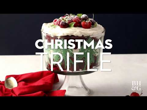 Red Velvet Christmas Trifle  | Fun With Food | Better Homes & Gardens