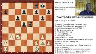 Шахматы - Мастер учится играть в классику. Урок 2. Контуры эндшпиля
