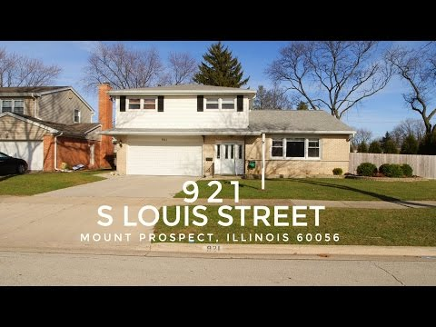 Welcome to 921 South Louis Street, Mount Prospect, IL 60056