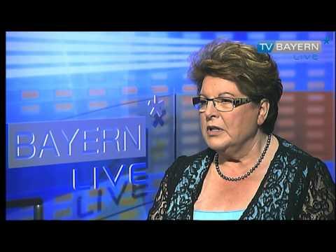 Landespolitisches Gespräch mit Barbara Stamm - TV BAYERN LIVE* am 06.07.2014