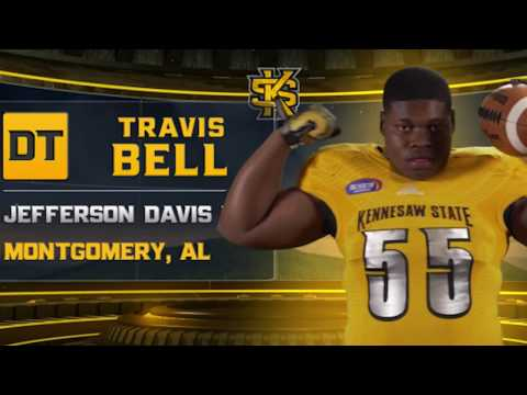 Travis Bell - 2017 Kennesaw State Football Signing Day