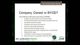BYOD Best Practices Helpful Tips