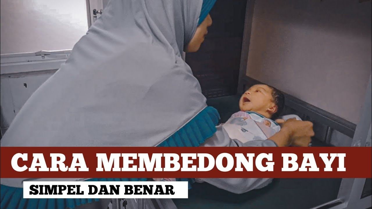 Cara Membedong Bayi dengan Benar dan Mudah - YouTube