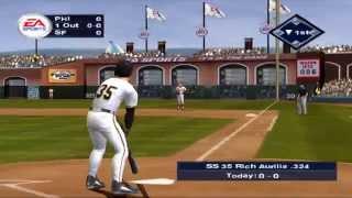 Triple Play 2002 PS2 (PCSX2) PHI at SF
