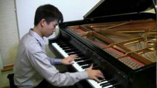 """Fireflies"" by Owl City, instrumental piano cover - Evan Chow, pianist"