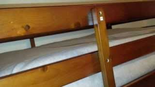 Mainstays Twin Over Twin Wood Bunk Bed Review